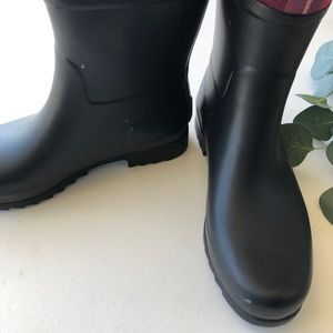UGG Shoes - UGG Plaid Sabene Rain Boots